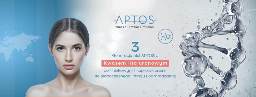 nici liftingujące Aptos z kwasem hialuronowym