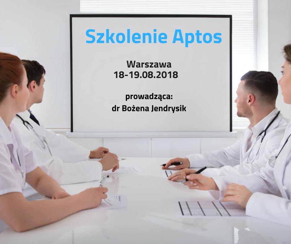 szkolenie Aptos dr Jendrysik